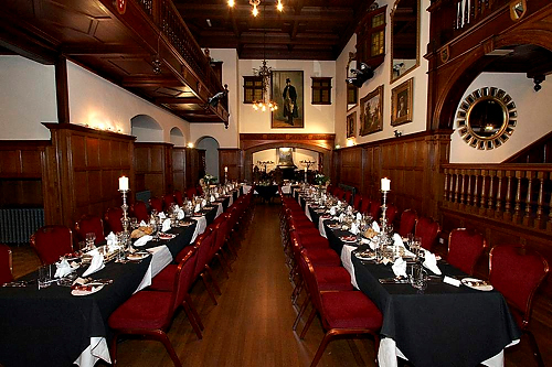 The Great Hall at Dalston Hall - image from Jan Mayer of Dalston Hall